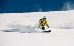 Лыжники и сноубордисты опробовали трассы в горах Сочи