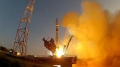 Минобороны опубликовало видео пуска «Союз-2.1б»