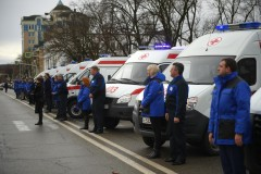 В Адыгее автомобилей скорой помощи стало на 14 больше