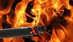 В Уфе двое мужчин погибли из-за непотушенной сигареты