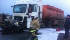 В Нижегородской области при ДТП с бензовозом погибли пять человек