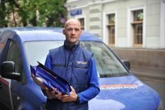 Почта России значительно расширила сеть курьерской службы
