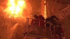 Прокуратура выясняет причины пожара в многоэтажном доме в Тюмени