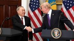 Назарбаев, находясь в Вашингтоне, пригласил Трампа в Казахстан