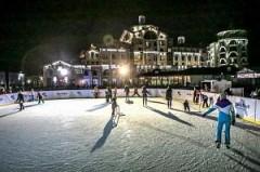 На горнолыжном курорте Сочи появился первый бесплатный каток