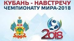 Флаг Всекубанской акции «Навстречу Чемпионату мира по футболу» принял Лабинский район