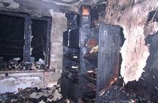 При пожаре в Москве погибла пенсионерка, её сын госпитализирован