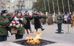В Невинномысске отметили 75-ю годовщину освобождения города от немецко-фашистских захватчиков