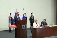 Максим Бондаренко вступил в должность главы Приморско-Ахтарского района