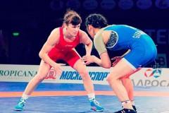 Спортсменка из Гулькевичей завоевала «бронзу» международного турнира по борьбе
