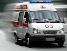В Краснодаре водитель уснул за рулем и въехал в столб