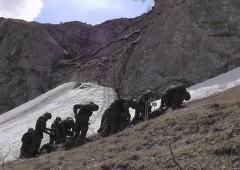 В КБР разведчики ЮВО преодолеют отвесную стену замерзшего водопада