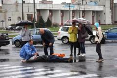 Гоша Куценко стал врачом на съёмках нового сериала «Скорая помощь»