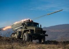 В Абхазии российские военнослужащие выполнили боевые стрельбы из РСЗО «Град»