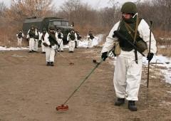 В Абхазии российские военные в ходе учения уничтожили склад боеприпасов