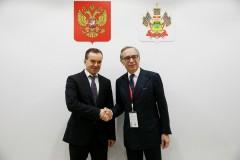 Вениамин Кондратьев встретился с Послом Италии Паскуале Терраччано