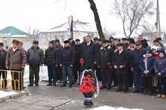 В Буденновске прошел митинг, посвященный 29-ой годовщине со дня вывода Советских войск из Афганистана