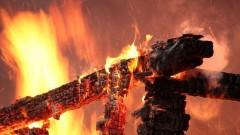 В Ейском районе Кубани два человека погибли при пожаре
