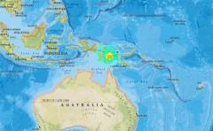 Землетрясение магнитудой 7,5 в Папуа-Новой Гвинее унесло жизни 30 человек