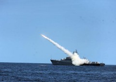 На Каспийской флотилии прошло учение корабельных групп