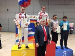 Кубанские спортсменки успешно выступили на первенстве России по борьбе
