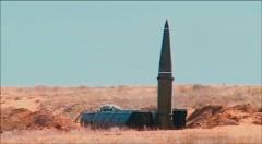 На полигоне Капустин Яр выполнен боевой пуск «Искандер-М» по условному противнику