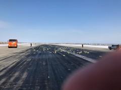 В Якутске самолет рассыпал по полю слитки золота