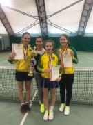 Кубанские девушки взяли «золото» первенства России по теннису