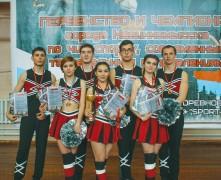 Первенство и чемпионат по чир спорту, чирлидингу  и современным танцам прошли в Невинномысске