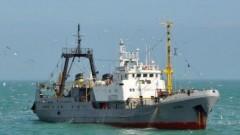 Украинские пограничники задержали российское судно