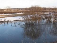 В Ростовской области потепление обернулось подтоплением