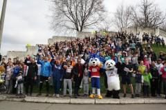 Благотворительный забег в Невинномысске поддержала 6-кратная олимпийская чемпионка
