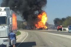 Пожар на АЗС в Новороссийске ликвидирован