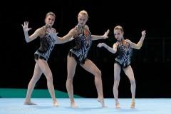 Кубанские спортсменки стали двукратными чемпионками мира по спортивной акробатике