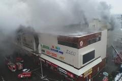 Следком уточнил число погибших при пожаре в кемеровском ТЦ
