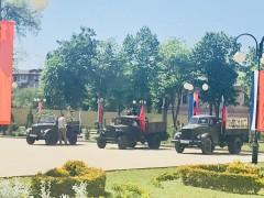 Кубанские следователи вместе с кадетами приняли участие в праздничных мероприятиях в преддверии Дня Победы