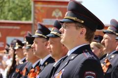 В Краснодаре состоялся автопробег Росгвардии «Вахта памяти. Сыны Великой Победы»