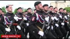В Грозном прошла генеральная репетиция парада Великой Победы
