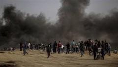 41 палестинец погиб при столкновениях в Газе