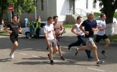 Кубанский пристав пробежал марафон