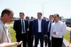 Благоустройство поселка Мирного в Сочи проконтролировал глава Кубани