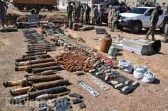В Хомсе обнаружены склады боевиков с оружием из стран НАТО