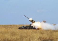 На Азовском побережье прошла первая тренировка лучших зенитчиков ВС РФ