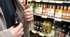 Житель Сарпинского района Калмыкии задержан за кражу спиртных напитков из магазина