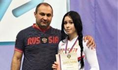 Спортсменка из Гулькевичей победила на Всероссийском студенческом турнире по спортивной борьбе