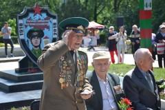 В Невинномысске к 100-летию пограничных войск открыли памятный знак