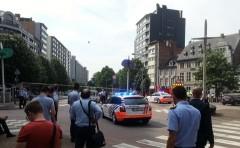В бельгийском Льеже мужчина открыл огонь по полицейским