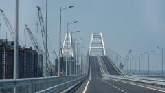 Установлена последняя свая железнодорожной части моста в Крым