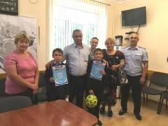Североосетинские полицейские объявили благодарность за бдительность двум школьникам из с. Заманкул