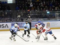 Юные хоккеисты сразились в ледовом дворце «Большой»